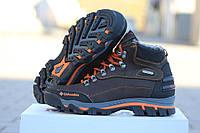 Мужские ботинки Columbia. Кожа Мех 100% Темно коричневые. Размер 40 41 42 43 44 45