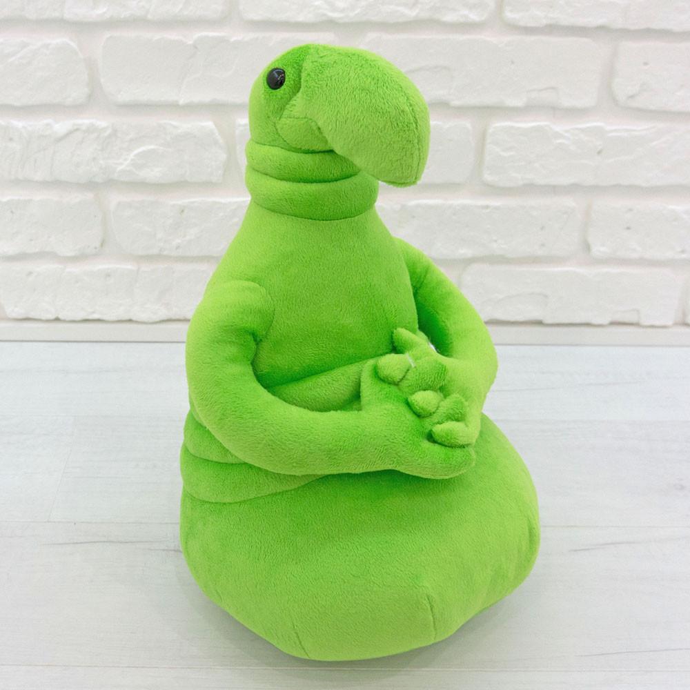 Мягкая игрушка Ждун зеленый 38см