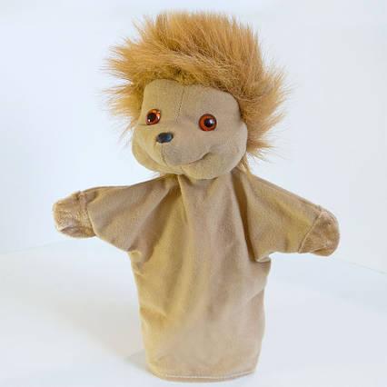 Рукавичка игрушка на руку Ежик кукла (кукольный театр) 29 см