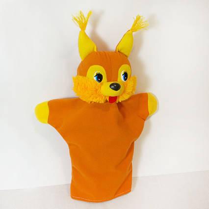 Кукла Игрушка Белка рукавичка (кукольный театр) 34 см