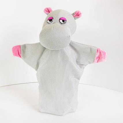 Игрушка рукавичка Бегемот (кукольный театр) 26 см