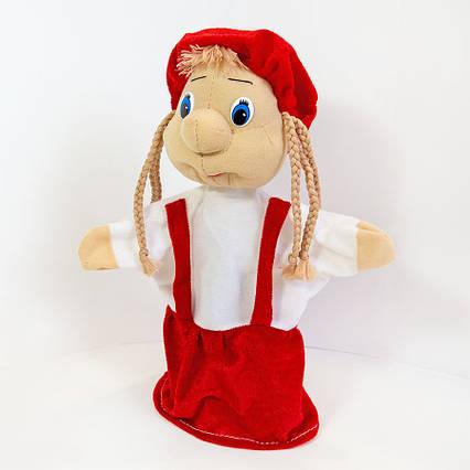 Игрушка кукла Девочка рукавичка (кукольный театр) 27 см