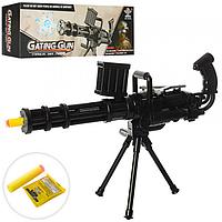 Детский Игрушечный Пулемет SY022A с водяными пулями, пулемет 022 с присосками