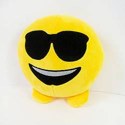 Мягкая игрушка смайлик emoji крутышка 18см