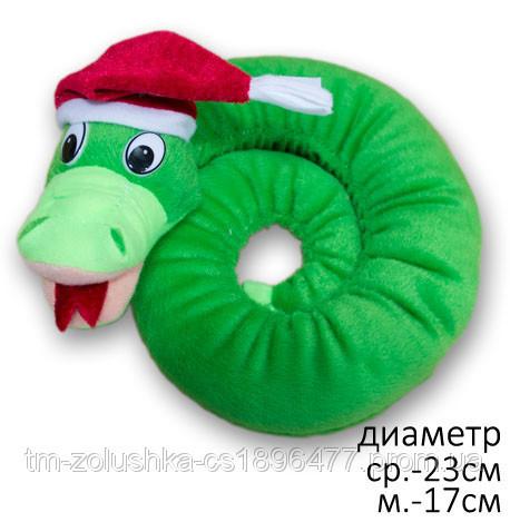 Змія Плюшева іграшка Удав 23 см