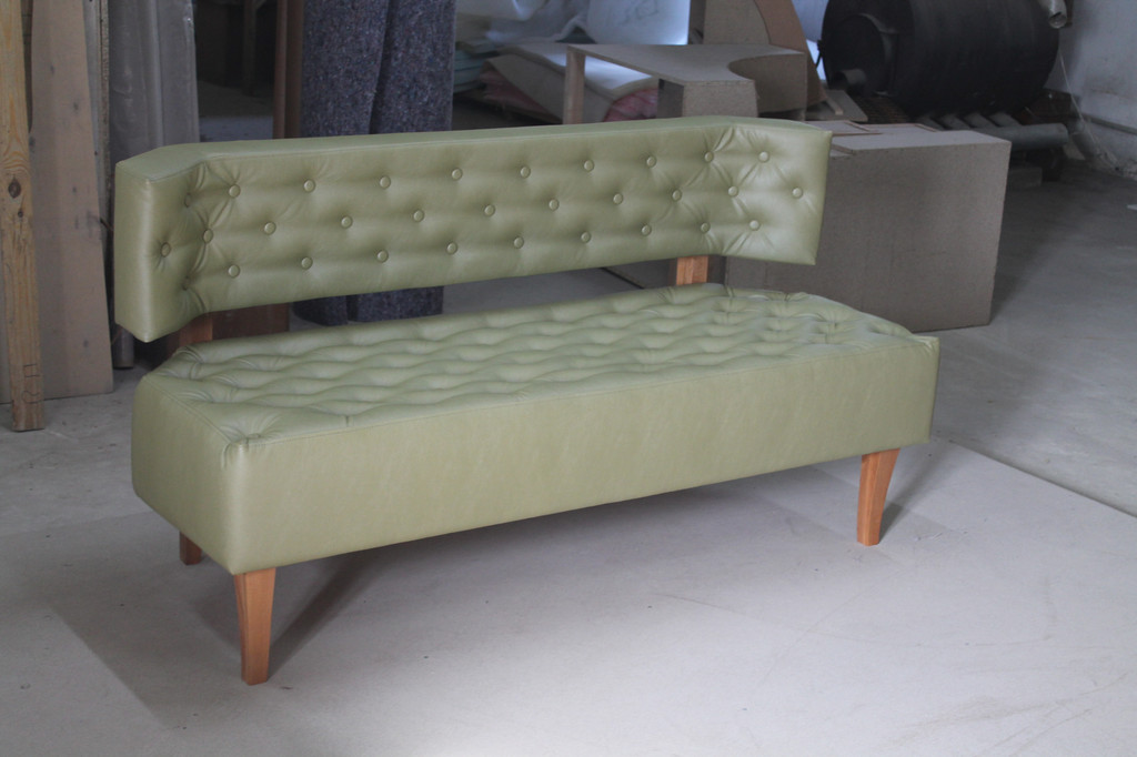 Нерозкладний диван для офісу,дому,ресторану.  -1