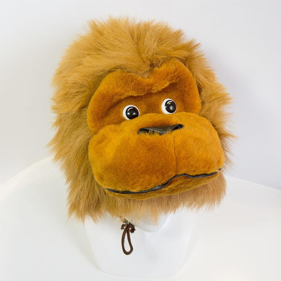 Шапочка обезьянки, детская шапка обезьяна