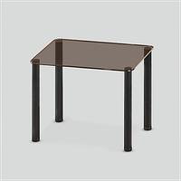 Стеклянный обеденный стол MONO P mini B/BL