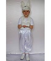 Премиум! Зайчик Карнавальный Детский костюмчик, Комплектация 4 Элемента, Размеры 3-6 лет, Украина