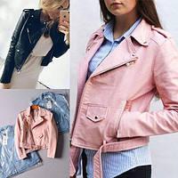 Женская куртка кожам,короткая.косуха,реплика ЗАРА(ZARA)