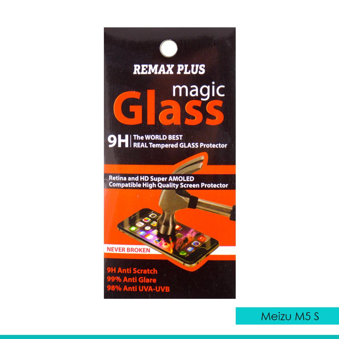 Стекло защитное Remax plus, ультратонкое для Meizu M5 S, 0,2 мм