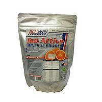 ACTIWAY Изотонический напиток, Iso Mineral Powder Blutorange (600 g)