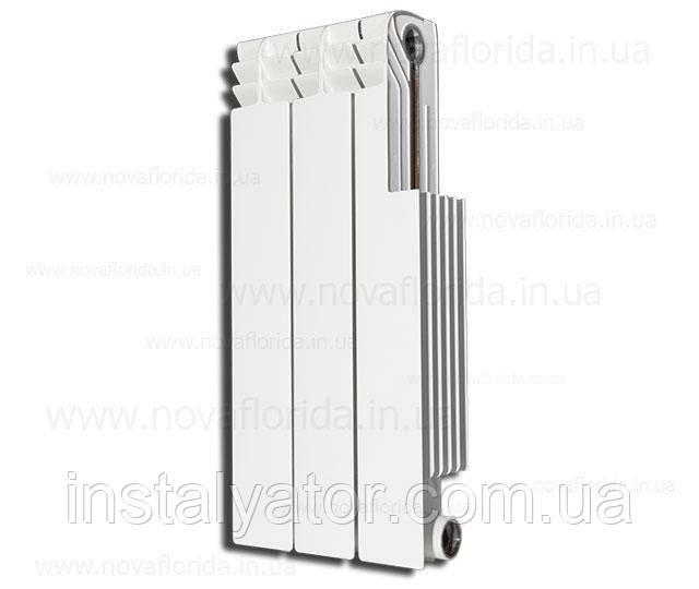 Радиатор биметаллический (ребро батареи) Nova Florida Alustal 500/100