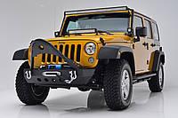 """Передний бампер силовой тюнинг Jeep Wrangler JK""""STINGER"""""""