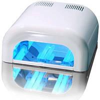 УФ Лампа для наращивания ногтей (белая) GLOBAL 36 W