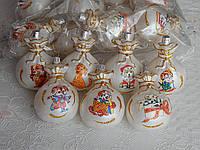 Новогодние шары на елку с собачкой, фото 1