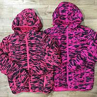 Куртка утепленная зимняя для девочек оптом Glass Bear 98-128 см. № W-802