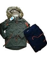 Зимові куртки, пальта, парки для хлопчиків ОПТ