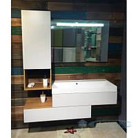 Fancy Marble Комплект мебели для ванной комнаты из 3 предметов, Tristan, Белый