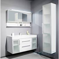 Fancy Marble Комплект мебели для ванной комнаты из 3 предметов, Barbados 2-120 Белый