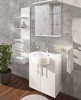 Fancy Marble Комплект мебели для ванной комнаты из 3 предметов, Ibiza 60, Белый
