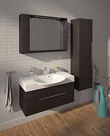Fancy Marble Комплект мебели для ванной комнаты из 3 предметов, Sumatra 98, Венге