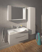 Fancy Marble Комплект мебели для ванной комнаты из 3 предметов, Sumatra 98, Белый