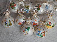 Новогодние шары на елку ввиде мешочка