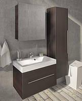 Fancy Marble Комплект мебели для ванной комнаты из 3 предметов, Corsika 70 Венге