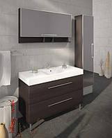 Fancy Marble Комплект мебели для ванной комнаты из 3 предметов, Barbados 120 Венге