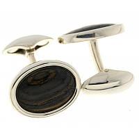 Серебряные запонки родированые  Арт.АМ-1622422