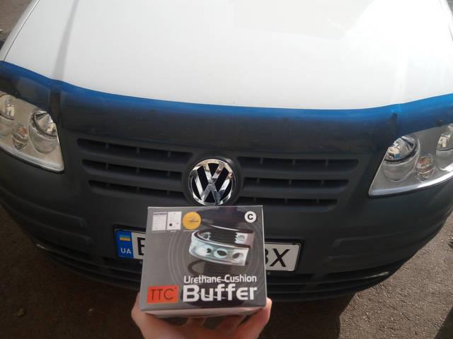 Автобаферы ТТС на VW Caddy -1