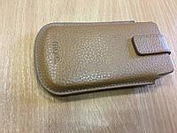 """Чехол кожаный для iphone 4/4s.Оригинал.""""More"""""""
