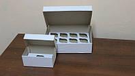 Коробки для кексов, маффинов, капкейков для 12 шт.(Упаковка 3 шт.) ВЫСОКАЯ 11 см.