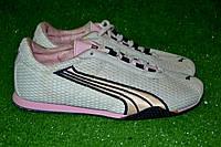 Кроссовки женские Puma сетка OK-7046 (розовый), фото 1