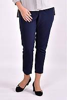 Женские укороченные брюки B031-3 цвет синий размер 42-74