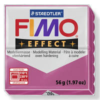 Брусок Fimo Двойной эфект Effect GEMSTONE  286 - 56гр.блеск и полупрозрачность, фото 1