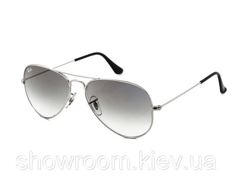 Мужские солнцезащитные очки в стиле RAY BAN aviator 3025,3026 (003/32) Lux