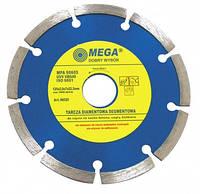Алмазный сегментный диск Ø 115 мм Mega