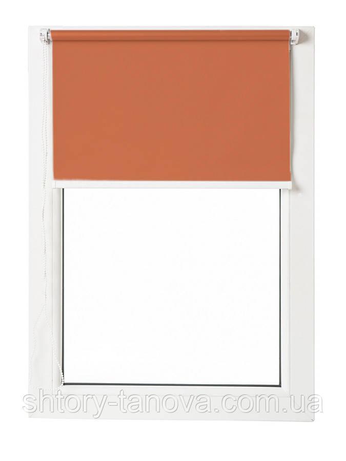 Термо ролети Арджент (помаранчевий)