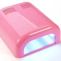 УФ Лампа для наращивания ногтей (розовая) GLOBAL 36 W