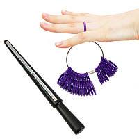 Пластиковый кольцемер пальцемер ювелирный инструмент