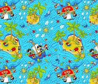 Детский ковролин Пиратский остров