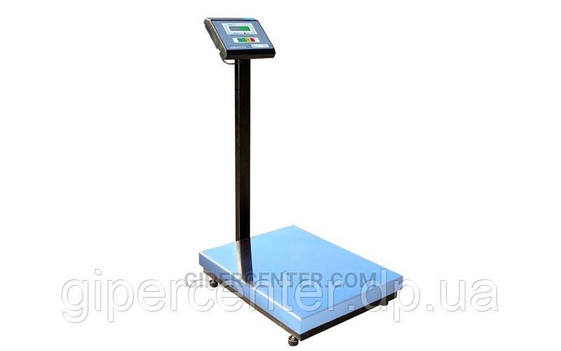 Весы товарные Промприбор ВН-150-1-А СИ до 150 кг (500х600 мм), со стойкой
