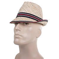 Шляпа Del Mare Шляпа соломенная мужская DEL MARE (ДЕЛЬ МАРЕ) 041301-091-10