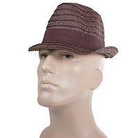 Шляпа Del Mare Шляпа соломенная мужская DEL MARE (ДЕЛЬ МАРЕ) 041301-093-32