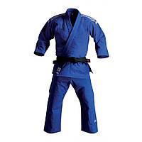 Кимоно для дзюдо Adidas Training J500 синее (Адидас)