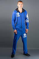 Мужской спортивный костюм Шалди, цвет электрик / размерный ряд 48,50,52,54,56