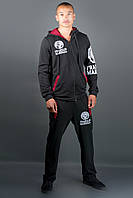 Мужской спортивный костюм Шалди, цвет черный / размерный ряд 48,50,52,54,56