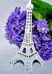 Эйфелева башня металлическая 13 см